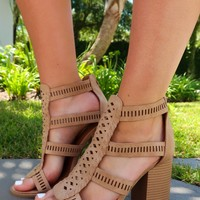 The Main Point Heels: Nude