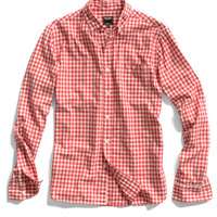 Pink Gingham Oxford Shirt