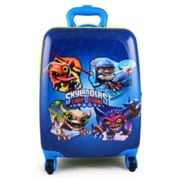 Skylanders Trap Team Polycarbonate Hardshell Luggage Case