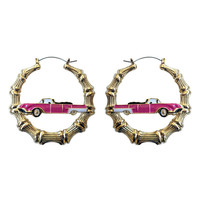 M.E. x JOYRICH Lowrider Bamboo Earrings