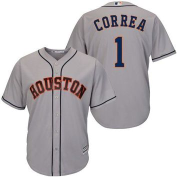 Carlos Correa Houston Astros #1 MLB Youth Cool Base Jersey 8-20 (Youth Small 8)