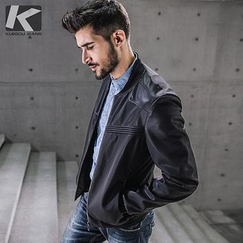 Men's Fur Jackets Coats Motorcycle Leather Jackets Men Autumn Spring Leather Clothing Male Casual Coats Clothing