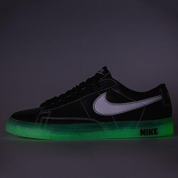 NIKE BLAZER LOW Woman Men Luminous Old Skool Shoes