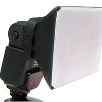 Opteka SB-1 Universal Studio Soft Box Flash Diffuser for Canon EOS, Nikon, Olympus, Pentax, Sony, Sigma, & Other External Flash Units