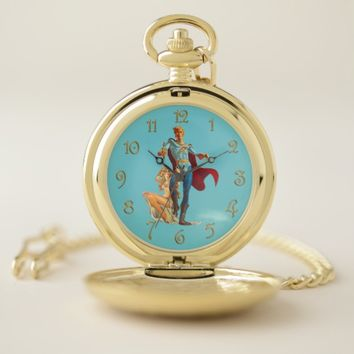 Sci-Fi Hero Pocket Watch