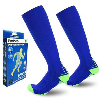 Knee High Compression Socks for Men and Women Quick Dry High Quality Leg Support 8811H