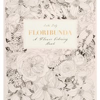 Floribunda Flower Coloring Book