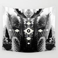 Eye 3 (Cacti) Wall Tapestry by Moonshiner