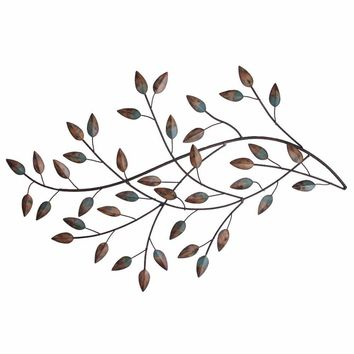 Blowing Leaves Wall Decor By Stratton Home Decor