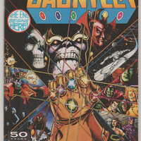 The Infinity Gauntlet; V1, 1.  NM. July 1991.  Marvel Comics