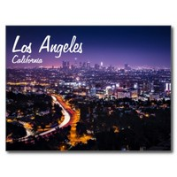 Los Angeles, California Skyline at night
