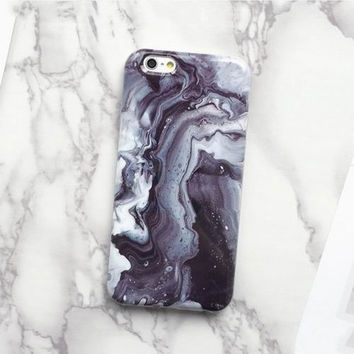 Swirl 2017 Marble Texture Hard Case Phone Case For iPhone 7 7Plus 6 6s Plus 5 5s SE
