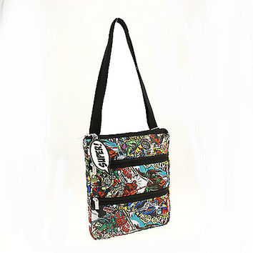 Marvel Heroes Comic Crossbody Bag - Spencer's