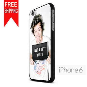 Harry Styles 'I Got A Dirty Mouth' NN iPhone 6 Case