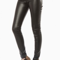 MARKUS FAUX LEATHER PANTS