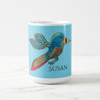 Hummingbird Personalized Coffee Mug