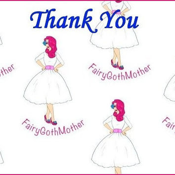 FairyGothMother Gift Card Thank You