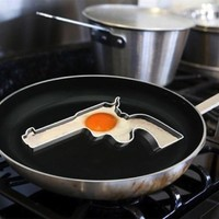 Handgun Egg Frying Mold