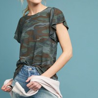 Roadtrip Flutter-Sleeve Tee