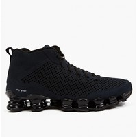 Nike Men's Black SHOX MID SP Sneakers