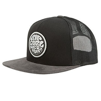 RIP CURL Rubber Soul Mens Trucker Hat, Black