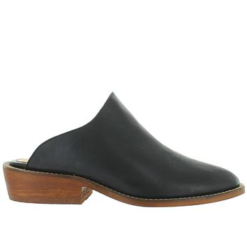 Musse & Cloud Michelle - Black Leather Mule