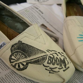 Cannon TOMS Shoes by themattbutler on Etsy