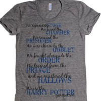 Athletic Grey T-Shirt | Cute Harry Potter Shirts