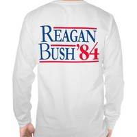 Reagan Bush '84 Fratty Front Pocket Republican
