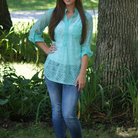 Sheer Happiness Blouse