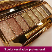 Glitter Eyeshadow Palette Make Up Set with Brush
