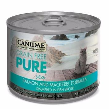 Canidae Pure Salmon/Mackerel Can Cat Food 12/5.5oz