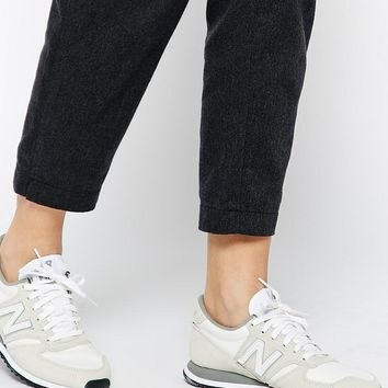 New Balance | New Balance 420 Cream Suede Sneakers at ASOS