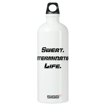 Custom SIGG Water Bottle: Sweat. SIGG Traveler 1.0L Water Bottle