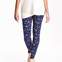 Old Navy Womens Patterned Leggings