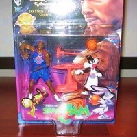 Space Jam Michael Jordan Sylvester w/ Sky Stilts & Plunger Stuffer