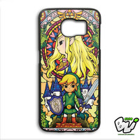 Zelda Stained Glass Samsung Galaxy S6 Edge Plus Case