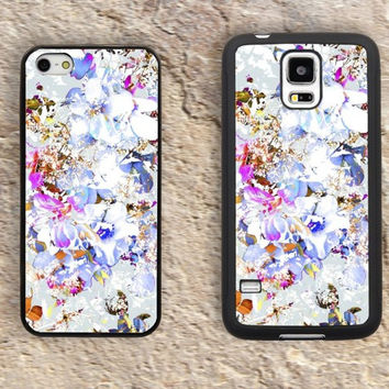 Pastels Pattern florals  iPhone Case-Flowers iPhone 5/5S Case,iPhone 4/4S Case,iPhone 5c Cases,Iphone 6 case,iPhone 6 plus cases,Samsung Galaxy S3/S4/S5-130
