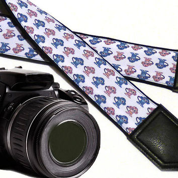 Monkey camera strap. DSLR / SLR Camera Strap. Camera accessories. Camera strap for Nikon, Sony, Canon, Fuji & other cameras. Great Gift.