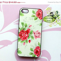 SALE Vintage Red Rose - iPhone 4 Case , iPhone 4s Case , iPhone 5 Case , Galaxy S3 , Galaxy Note2 , Floral Case