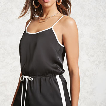 Satin Cami Jumpsuit