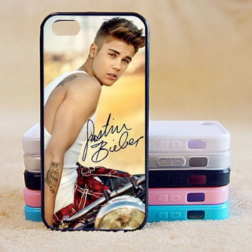 Justin Bieber,Signature,Custom Case, iPhone 4/4s/5/5s/5C, Samsung Galaxy S2/S3/S4/S5/Note 2/3, Htc One S/M7/M8, Moto G/X
