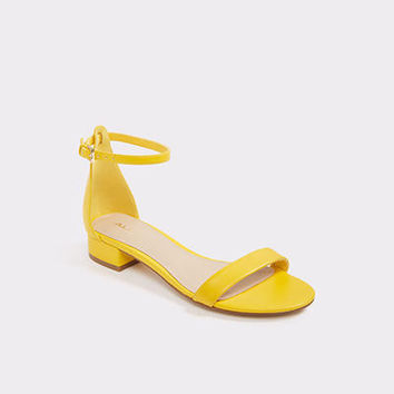 Angilia Yellow Misc. Women's Block heels | ALDO US