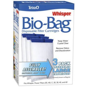 Tetra Whisper Assembled Bio-Bag Filter Cartridges