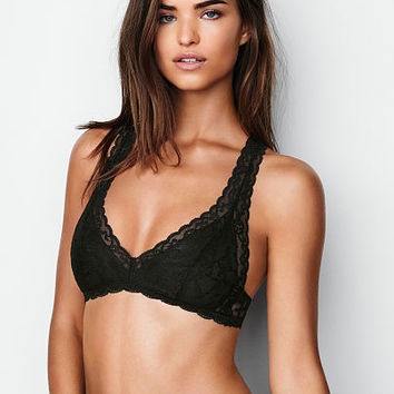 Lace Racerback Bralette - The Victoria's Secret Bralette Collection - Victoria's Secret