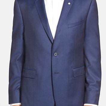 Men's Big & Tall Ted Baker London 'Lubbock' Trim Fit Sport Coat,