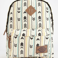 Dickies Arrow Print Backpack Brown Combo One Size For Women 24171402801