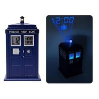 Doctor Who TARDIS Projection Alarm Clock - Underground Toys - Doctor Who - Clocks at Entertainment Earth