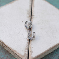 Horseshoe Studs from Tinley Rose Accessories