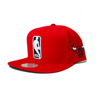 Mitchell & Ness The League Snapback Chicago Bulls In Red
